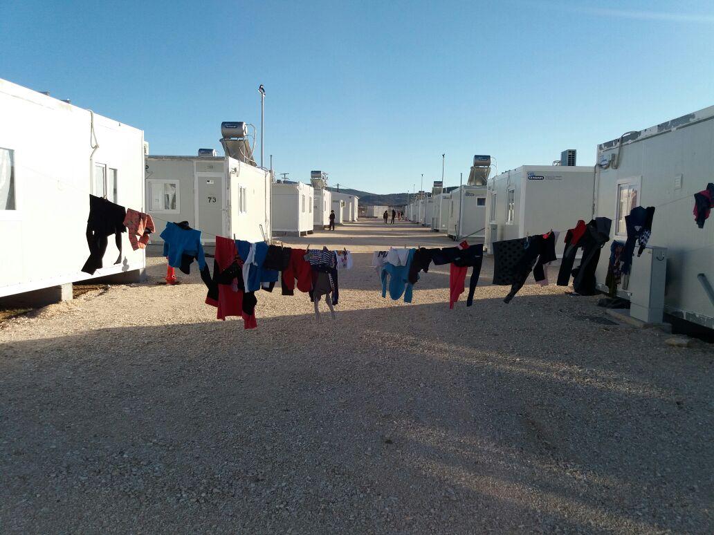 Flüchtlingscamp refugee camp Menschrechte Flüchtlinge in Europa